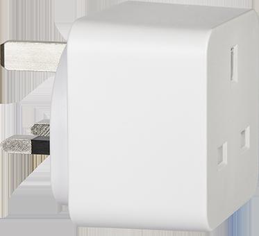 TCP Smart Plug UK Mini 45˚v2 72dpi