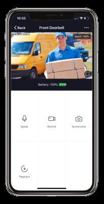 New Tall - App doorbell