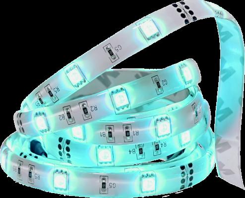 TCP Smart LED Tape Light WiFi RGB Aqua 72 dpi